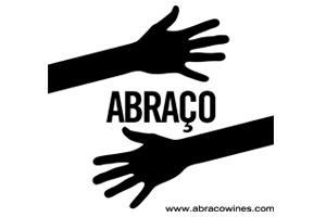 Logotipo Abraço Wines Maos