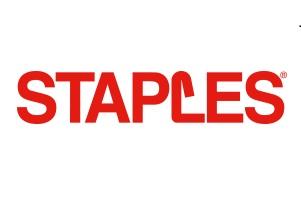 Logotipo Staples parceiro abraço