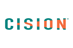 Logotipo Cision parceiro abraço