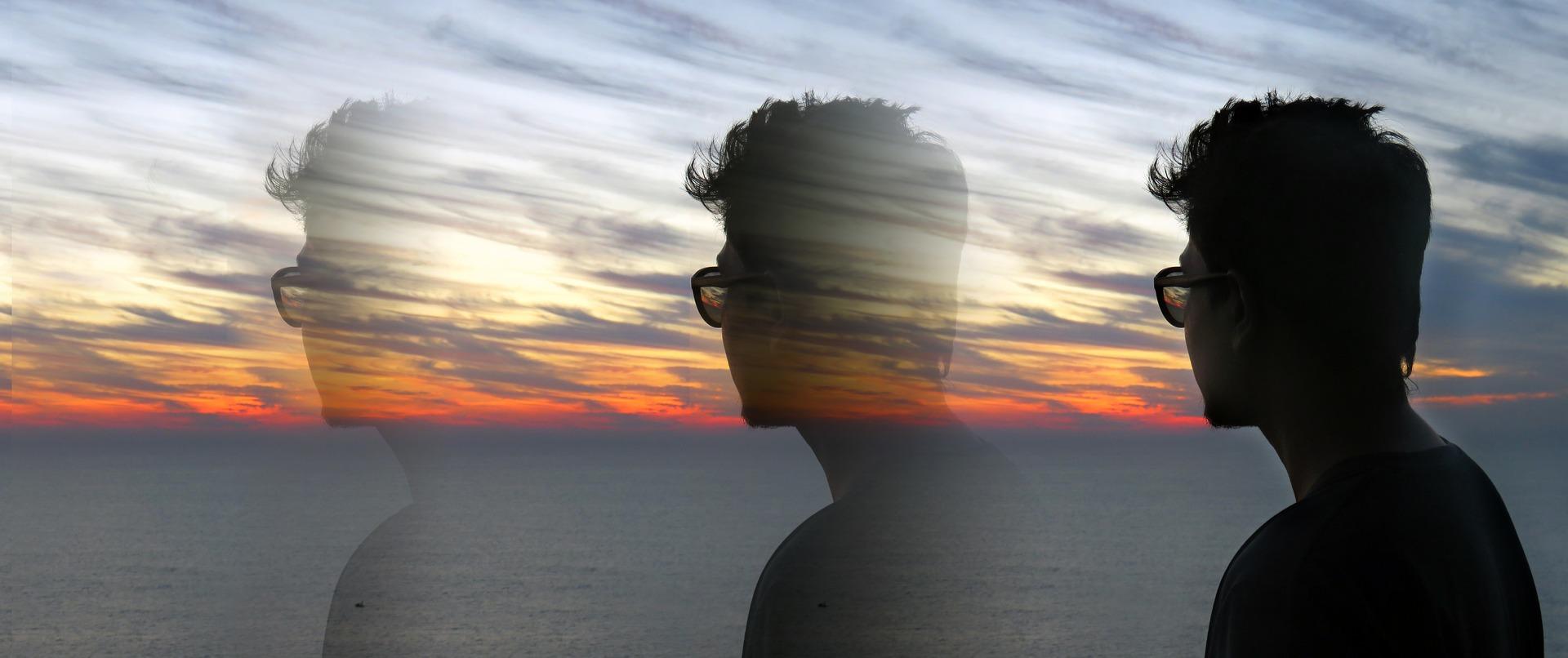 Banner sunset Abraço pensamentos