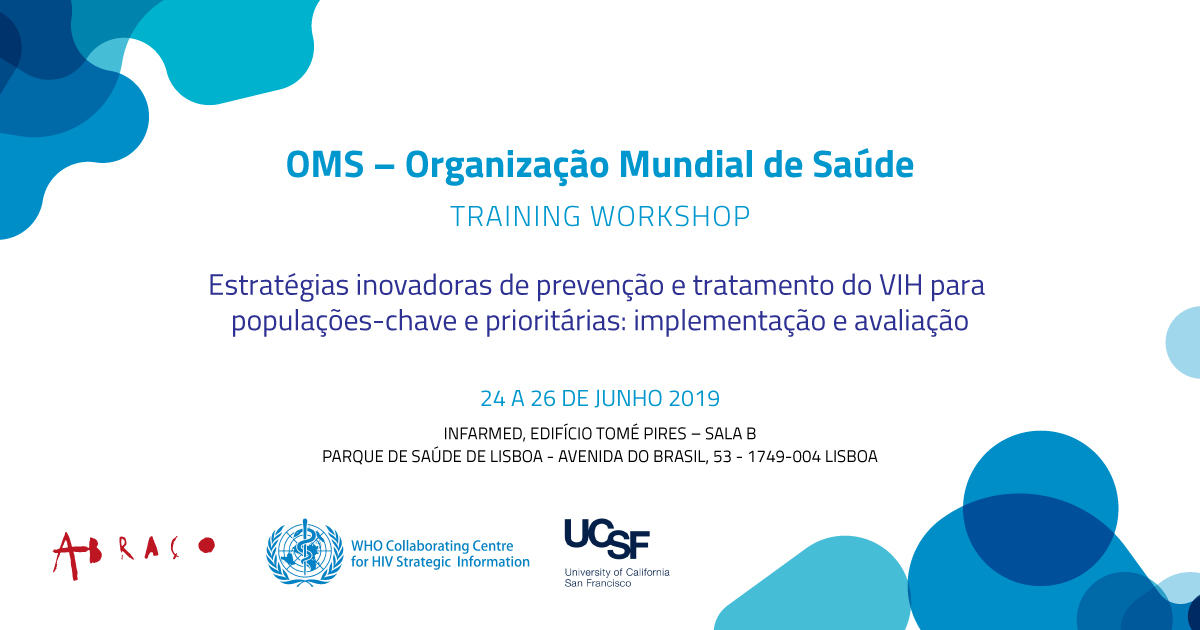 Organizacao Mundial Saude Workshop