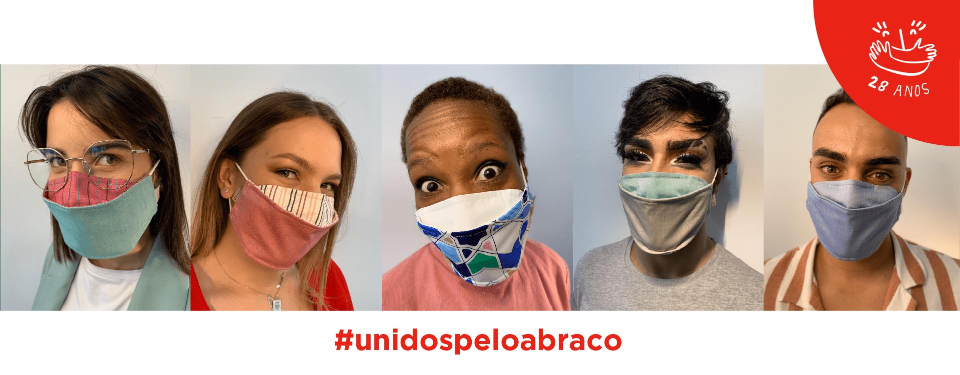 #UnidospeloAbraço: as novas máscaras solidárias 100% portuguesas